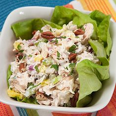 Cans Get You Cooking - Pineapple Chicken Salad with Pecans