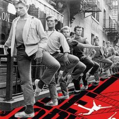 Jerome Robbins gives class to cast of West Side Story - Productions - LIVE at Broadway Dance Center.