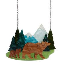 Mountain Retreat Necklace Fantastic Fox, Bare Necessities, Wild Child, Source Of Inspiration, You're Awesome, Ladies Day, Designer Earrings, All Design, The Great Outdoors