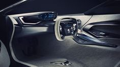 Peugeot ONYX: With its silhouette pushed to the extreme, the Onyx Concept Car fascinates at first sight.