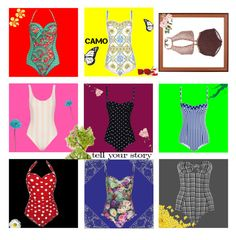 """""""Timeless swimsuit."""" by hanvnd on Polyvore featuring Dolce&Gabbana, Zimmermann, Wildfox, Lisa Marie Fernandez, Solid & Striped, Paolita, Betsey Johnson and Allstate Floral"""