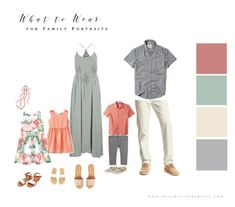 What to Wear for Family Portraits (Updated!) Perfect outfits for spring, summer or beach family photos! What to Wear for Family Portraits (Updated!) Perfect outfits for spring, summer or beach family photos! Casual Family Photos, Spring Family Pictures, Family Pictures What To Wear, Family Pics, Family Posing, Family Portraits What To Wear, Beach Family Photos, Family Family, Summer Family Portraits