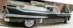 1958 Cadillac Eureka Four Door Funeral Flower Car