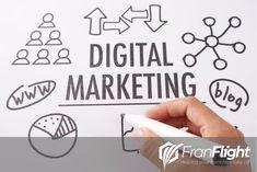 Choose FranFlight for all your digital marketing needs for your franchise business. Franchise Business, Digital Marketing, Web Design, Management, Design Web, Website Designs, Site Design