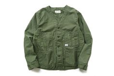 orSlow x Fennica Railroad Jacket Mature Mens Fashion, Looks Hip Hop, Army Shirts, Retro Mode, Tactical Clothing, Work Jackets, Minimal Dress, Facon, Military Fashion