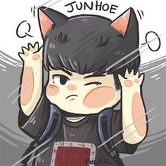 Junhoe Ikon Junhoe, Ikon Kpop, Ikon Wallpaper, Yg Ent, Kpop Fanart, Bts Lockscreen, Love Art, A Team, Bobby