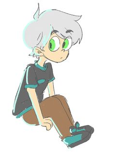 Danny Phantom - What if he hadn't put on the jumpsuit?