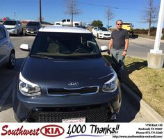 https://flic.kr/p/DF8qDS | Congratulations Richard on your #Kia #Soul from Don Weintraub at Southwest KIA Rockwall! | deliverymaxx.com/DealerReviews.aspx?DealerCode=TYEE
