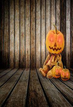 Halloween Scary Pumpkin Horror Photography Background Skull bat Poster Evil Pumpkin Studio Props Background Scary Night Pumpkin Lantern Fairy Tale Background