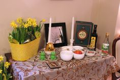 #MealTango #Nowruz (#New Jersey) #Traditional #table #arrangements  for #Ceremony