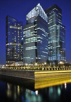 Marina Bay Financial Centre – Singapore