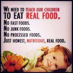 Real food... :)