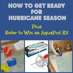 Tips to help you get ready for hurricane and tropical storm season.  via www.Backdoor Survival.com