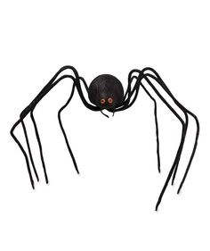 Black Glittered Spider Large $14.95 www.theholidaybarn.com