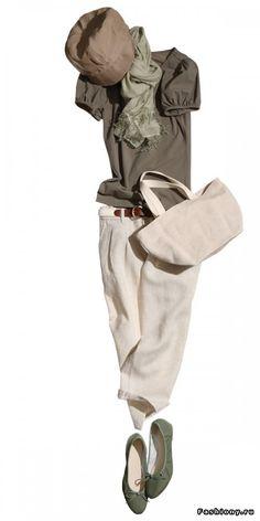 Льняная простота / льняная одежда