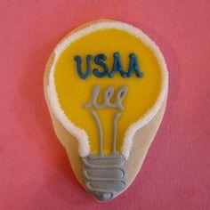 usaa lightbulb | Lily's Cookies