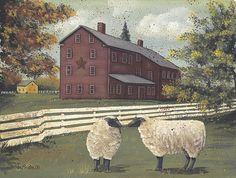 image sheep portrait primitive - Google Search