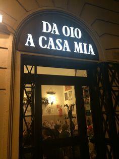 """Trattoria """"Da Oio"""" A Casa Mia"""