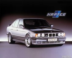 Bmw 5 series e34 as tuned by hartge.
