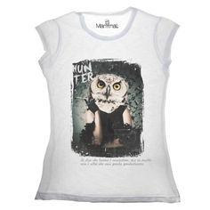 T-shirt civetta Available on www.manymaltshirt...