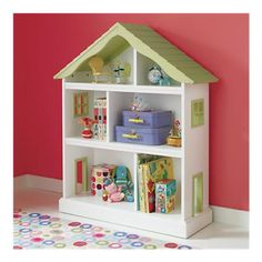 Another thing we are buying for our princess. It doubles as a bookshelf or a dollhouse! Love it!