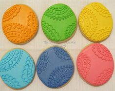 Easter Egg cookies 2 dozen by TheSweetShopCookieCo on Etsy