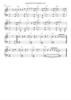 Free piano sheet music:  The Greatest-Sia.pdf       But the strong will survive, another scar may bless you                        Uh, ...