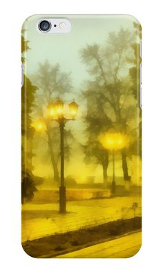 """Light of autumn evening."" iPhone Cases & Skins by floraaplus 