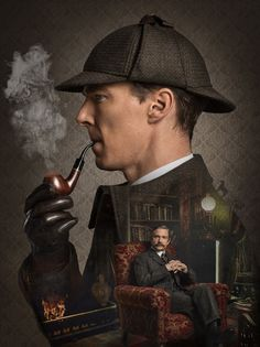 Check out these new pictures from Sherlock: The Abominable Bride, a new Vicorian special that takes Sherlock Holmes (Benedict Cumberbatch) and Dr. John Watson (Martin Freeman) back to London. Benedict Sherlock, Sherlock John, Sherlock Poster, Sherlock Series, Sherlock Quotes, Sherlock Tumblr, Sherlock Moriarty, Sherlock Holmes Benedict Cumberbatch, Sherlock Fandom