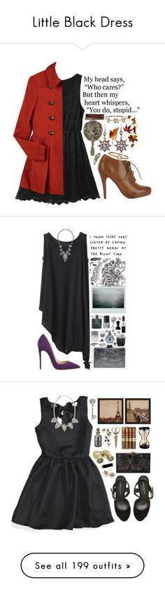 """""""Little Black Dress"""" by shazellove ❤ liked on Polyvore"""