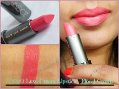 Zoeva Luxe Cream Lipstick: Floral Crown 05 Review, Swatch, LOTD