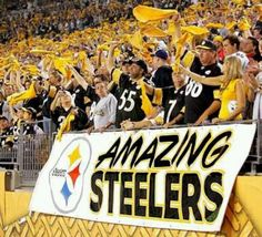 Congratulations to the Pittsburgh Steelers for getting back to the playoffs. The Steeler Nation is ready for another run to the Super Bowl. Steelers Pics, Here We Go Steelers, Pittsburgh Steelers Football, Pittsburgh Sports, Football Team, Steelers Stuff, Football Baby, Football Memes, Baseball