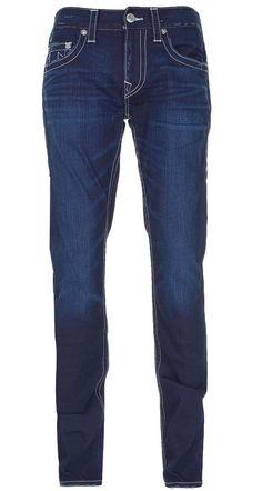 True Religion Mens Skinny with Flaps Jeans Size 31 in Devils Trail NWT $240 #TrueReligion #SlimSkinny