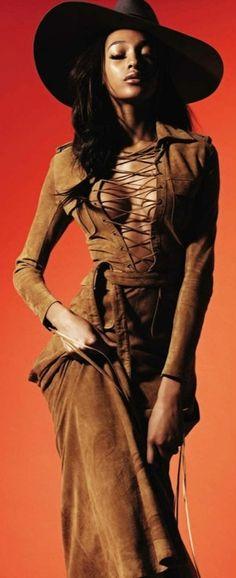 Jourdan Dunn for Vogue Spain February 2013
