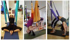 EMP Industrial - YOGA SWING - Standard Aerial Yoga Hammock, Hammock Swing, Yoga Props, Defying Gravity, Look Good Feel Good, Yoga Accessories, Poses, My Yoga, How To Stay Healthy