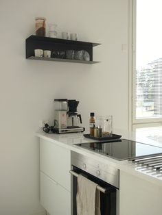 Hannas Home / kitchen / kitchen styling / Ikea Botkyrka shelf