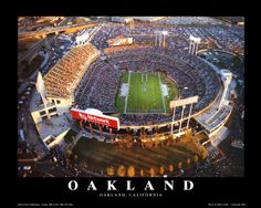 Oakland A's & Raiders!