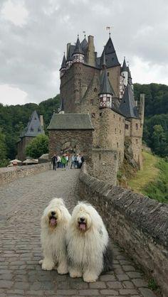 Sophie and Sarah  on burg Eltz