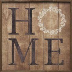 Kendrick Home Wood Wall Art #wallart #gift #woodart #wood #homedecor #quote #décor #sign #rustic #farm #farmhouse #modern #framed #handmade #madeintheusa