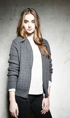 This bomber jacket by #Suss Design is soft, stylish and perfect for the cold seasons!