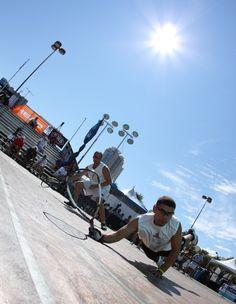 Outdoor racquetball...
