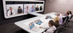 Immersive telepresence is ultimate in video communication. Telepresence delivers a true-to-life boardroom meeting experience. Participants appear in life-like dimensions, they are seen in high definition video, and heard in crystal clear quality audio. No boardroom meeting is more productive.