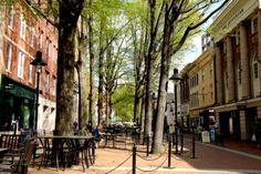 Exploring Main Street in Charlottesville Virginia