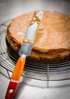 Dulce de leche cheesecake | davidlebovitz.com
