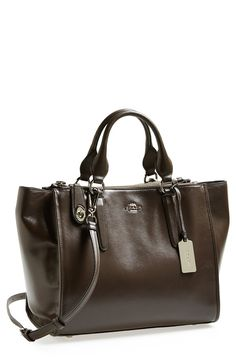 Coach Crosby Tote in Mink $298.50  saw this in store the other day...heavenly piece of goods.