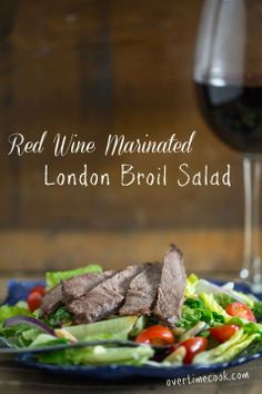 Passover - London Broil Salad on OvertimeCook