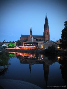 Interrail suggestions : Uppsala by night