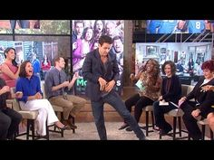 The Talk - 'The McCarthys' Joey McIntyre Demos Pre-Show Dance