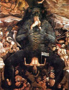 Giovanni da Modena, Affresco dell'Inferno, 1410 - Imgur