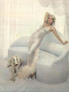 Marilyn as Jean Harlow, 1957
